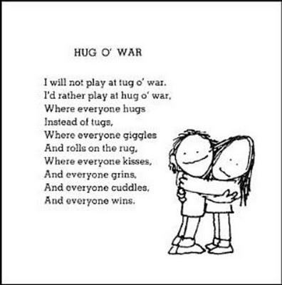 hug or war