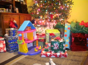 the kids' Christmas
