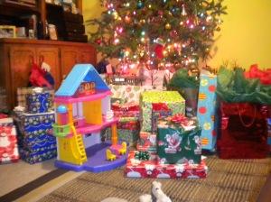 the kids' Christmas