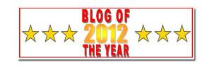 Blog of the Year Award banner 600
