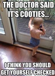 Cooties!