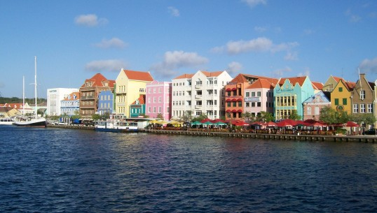 Curacao's 'Rainbow Row'
