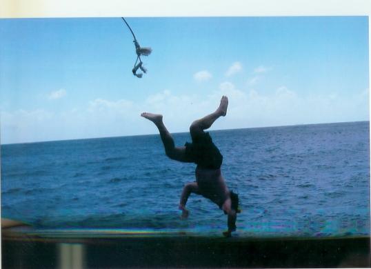 John's 'extreme' diving