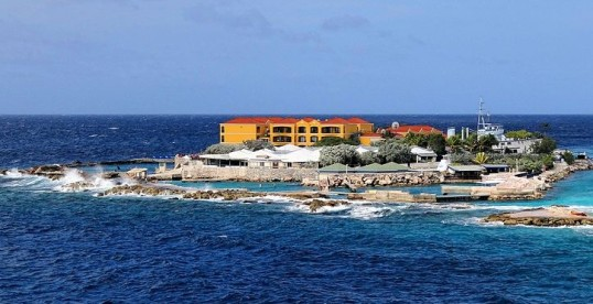 the Curacao Aqurium