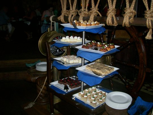 for the dessert buffet