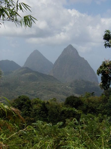 twin pitons