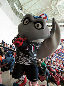 'Cool Ray' the mascot