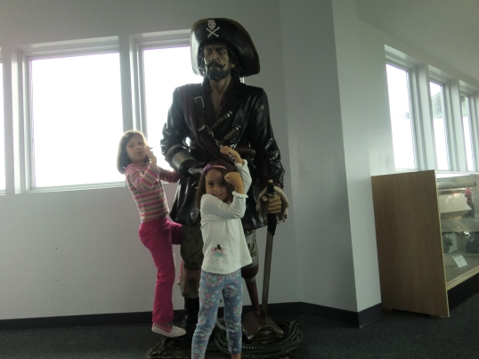 "And, of course, the required Pirate, ""Arrrgh matey"" pose"
