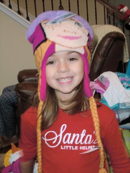 Princess Elsa hat with braids