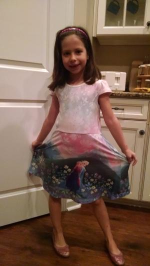 froz dress