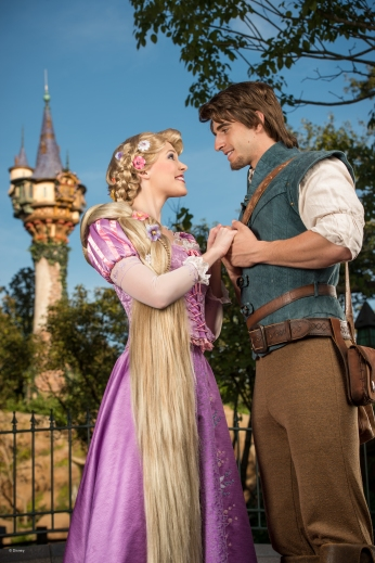 Magic_Kingdom_Park_Rapunzel and Flynn