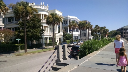 Let's take a walk up East Bay Street from the Battery
