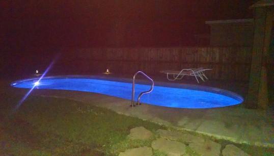 a post pool