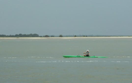 Sea Kayak traffic