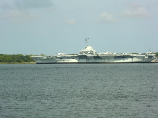 the USS Yorktown, Dylan's B&B this weekend.