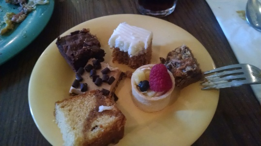 I love a dessert buffett