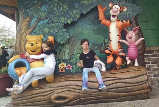 Disney Springs w Pooh