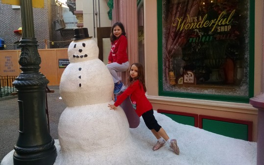 Hollywood Studios snowman