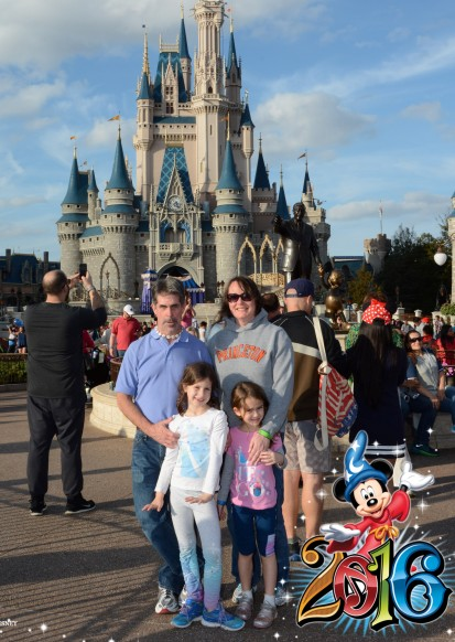 Required souvenir shot at the Magic Kingdom