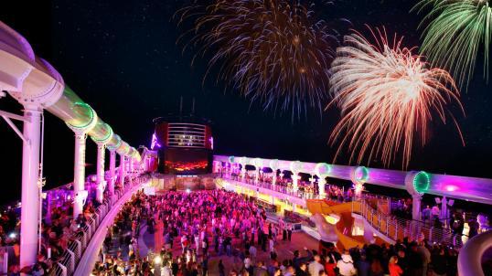 the Disney Dream ship